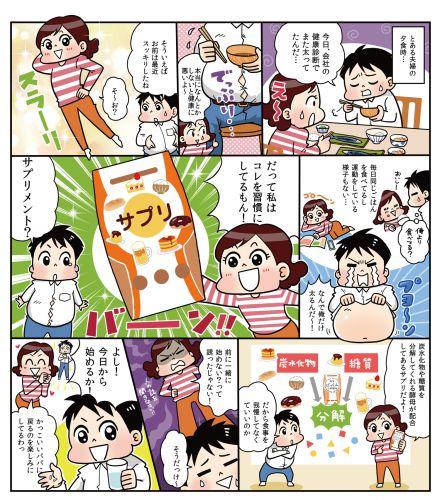 ぱっくん分解酵母広告ページ